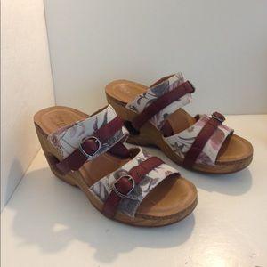 4EurSole wedge sandals